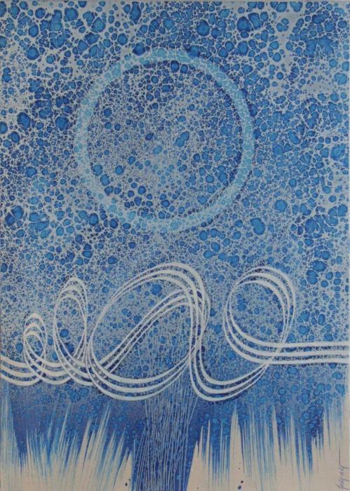 Sole blu