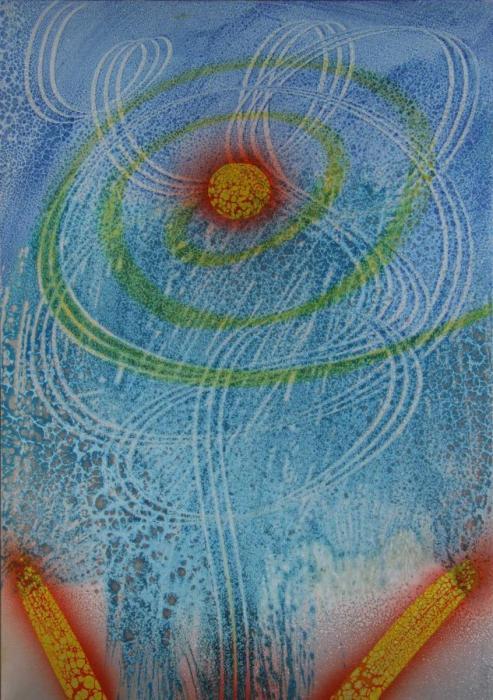 Spirale di luce